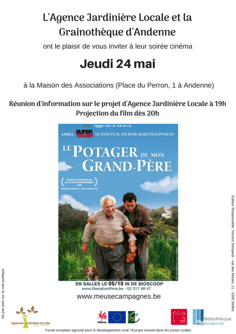 Invitation film potager
