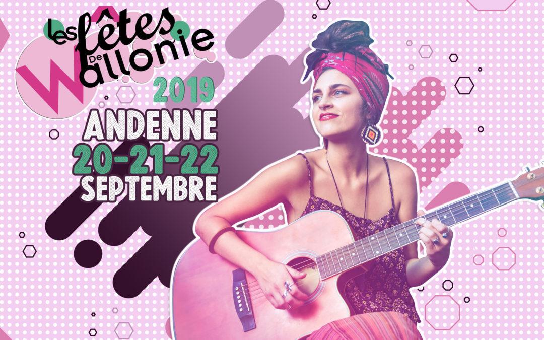 Le GAL Meuse@Campagnes aux Fêtes de Wallonie à Andenne