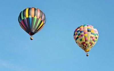 Découverte du territoire du GAL … en montgolfière !
