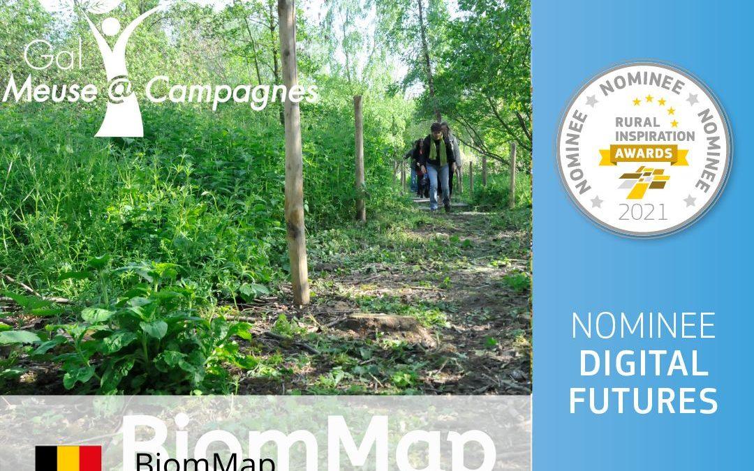BiomMap, nomination aux Rural Innovation Awards 2021
